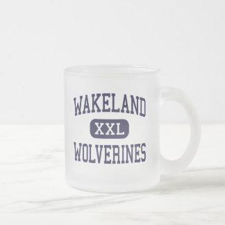 Wakeland - Wolverines - High School - Frisco Texas Coffee Mugs