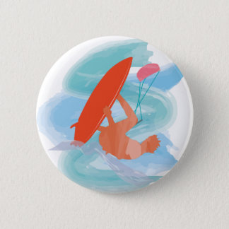 Wakestyle by Shirt to Design Pinback Button