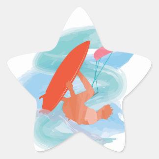 Wakestyle by Shirt to Design Star Sticker