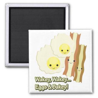 wakey wakey eggs n bakey 2 inch square magnet