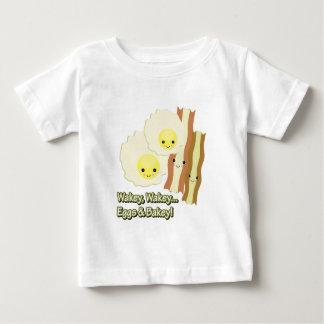 wakey wakey eggs n bakey baby T-Shirt