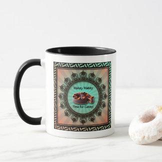 Wakey Wakey Time for Cakey Mug