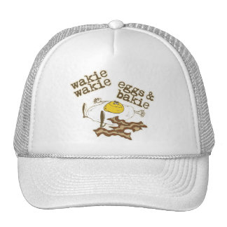 Wakie Wakie Eggs and Bakie Trucker Hat