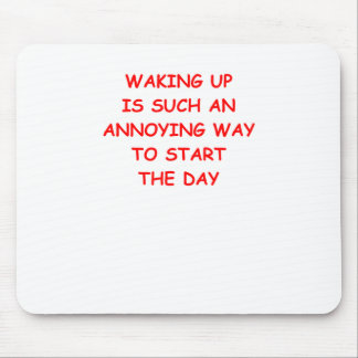 WAKING MOUSE PAD