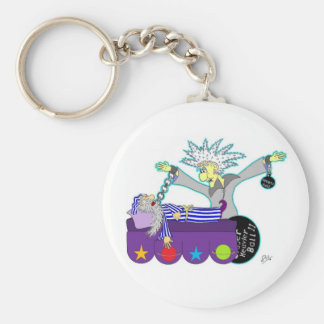 Waking Tickety Boo Keychain