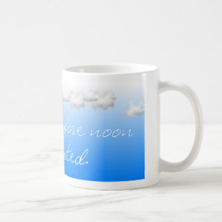 Waking Up Before Noon is Overrated Coffee Mug