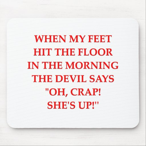 waking up mouse pads