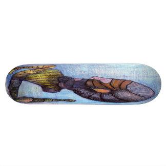 waking up skateboard deck