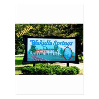 WAKULLA SPRINGS, FLORIDA POSTCARD