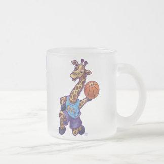 WAL Basketball Frosted Glass Coffee Mug