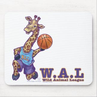 WAL Basketball Mouse Pad