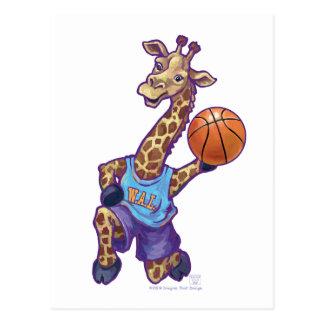 WAL Basketball Postcard