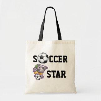 WAL Soccer Tote Bags