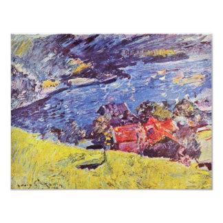 Walchensee By Corinth Lovis (Best Quality) 4.25x5.5 Paper Invitation Card