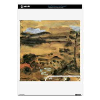 Walchensee by Lovis Corinth PS3 Slim Console Decals