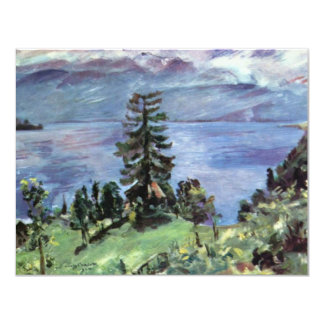 Walchensee Panoramic View From The Pulpit By Corin 4.25x5.5 Paper Invitation Card