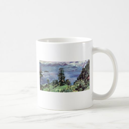 Walchensee Panoramic View From The Pulpit By Corin Mugs