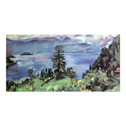Walchensee Panoramic View From The Pulpit By Corin Photo Card