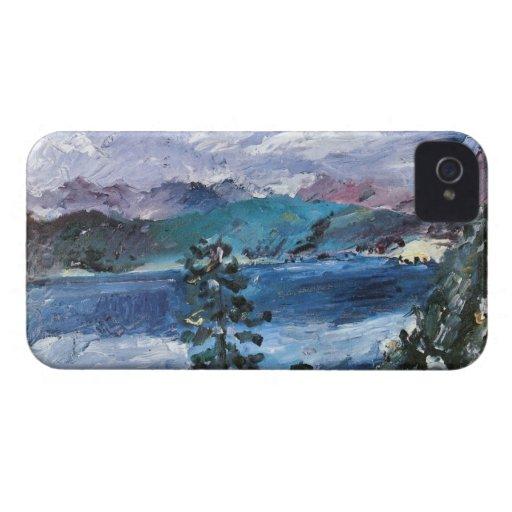 Walchensee with larch by Lovis Corinth Blackberry Bold Case