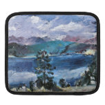 Walchensee with larch by Lovis Corinth Sleeves For iPads