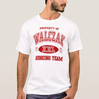 Walczak Polish Drinking Team t shirt
