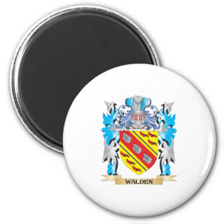 Walden Coat of Arms - Family Crest 2 Inch Round Magnet