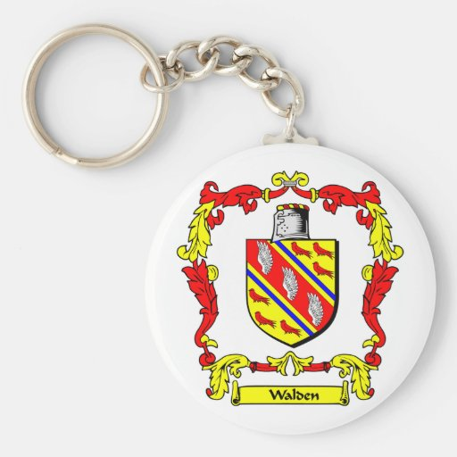 WALDEN Coat of Arms Keychains
