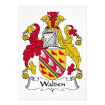 Walden Family Crest Invitations