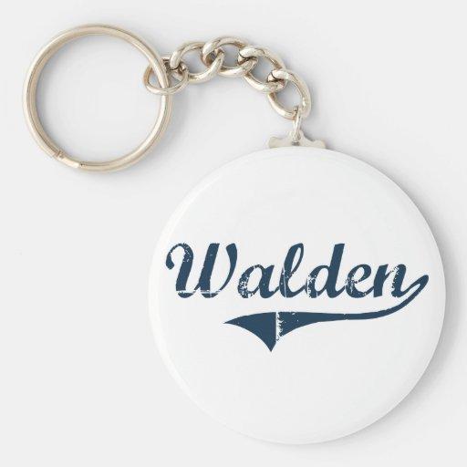 Walden New York Classic Design Key Chain