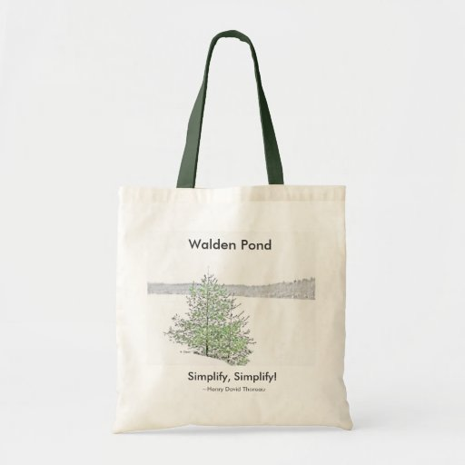 Walden Pond: Canvas Bags