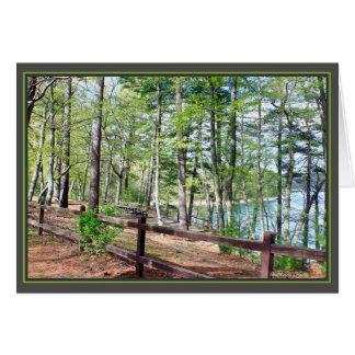 Walden Pond: Card