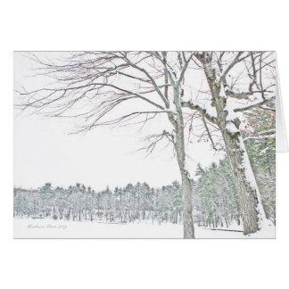 Walden Pond: In Zen Card