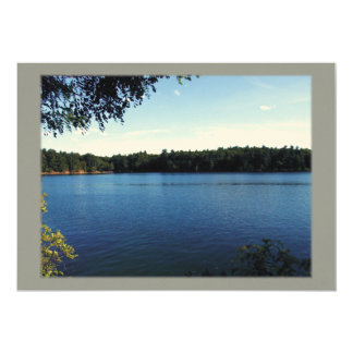 Walden Pond Invitation