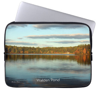Walden Pond: laptop cover Computer Sleeves