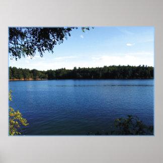 Walden Pond Print