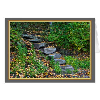 Walden Pond: Steps-Greeting Greeting Card