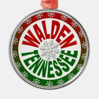 Walden Tennessee red green ornament