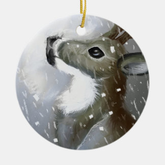 Walden Ward Artwork :Morgana Weeks Ceramic Ornament