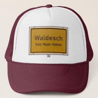 Waldesch Ortsschild City Limits Sign Trucker Hat
