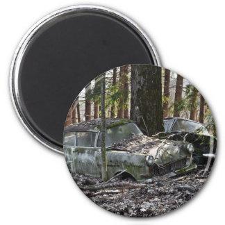 Waldfriedhof 2 Inch Round Magnet