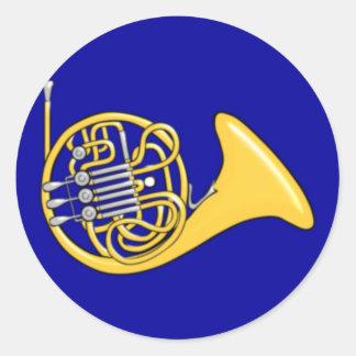 Waldhorn french horn pegatina