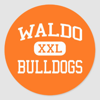 Waldo - Bulldogs - High School - Waldo Arkansas Stickers