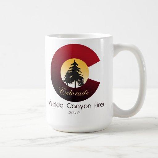 Waldo Canyon Fire Classic White Coffee Mug