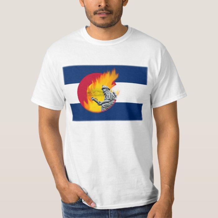 waldo canyon fire colorado springs co t shirt zazzle