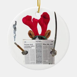 Waldo Ceramic Ornament