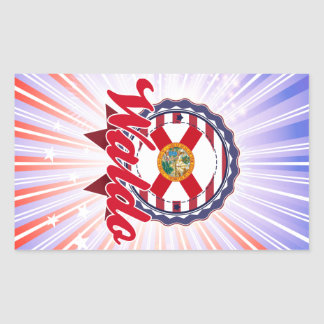 Waldo, FL Rectangular Sticker