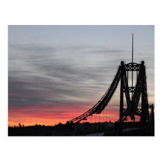 Waldo-Hancock Bridge Postcard