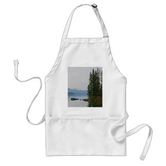 Waldo Lake, Oregon Adult Apron