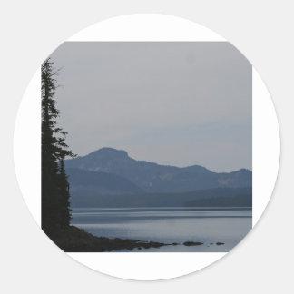 Waldo Lake, Oregon Classic Round Sticker