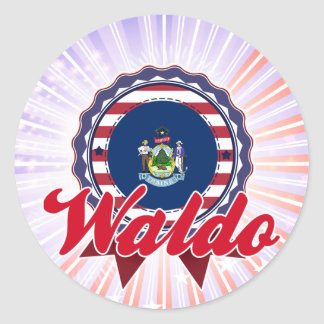 Waldo, ME Round Stickers